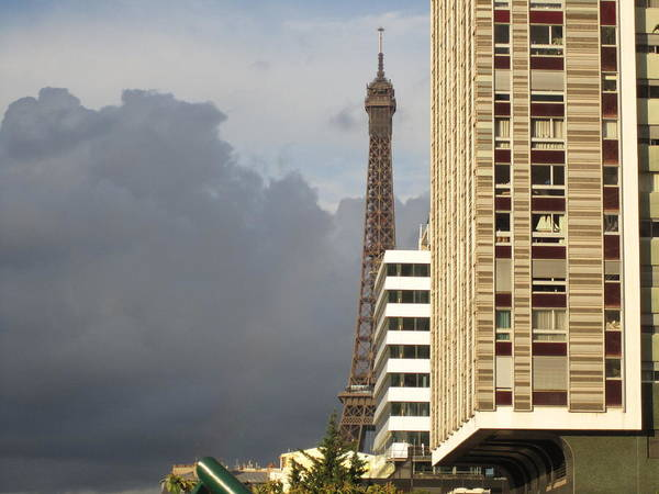 Photograph - Eiffel Tower Skyline Paris France by John Shiron