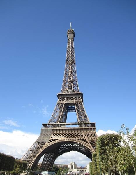 Photograph - Eiffel Tower Tarped Ix Paris France by John Shiron
