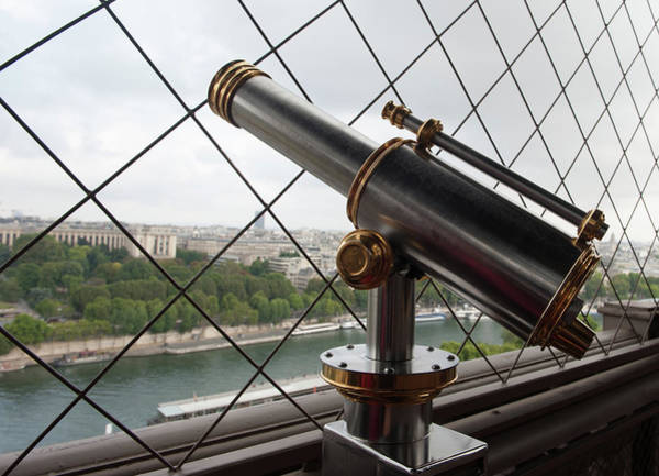 Photograph - Eiffel Tower Telescope IIi by Helen Northcott