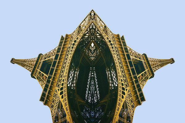 Pyrography - Eiffel Tower by Tony Rubino