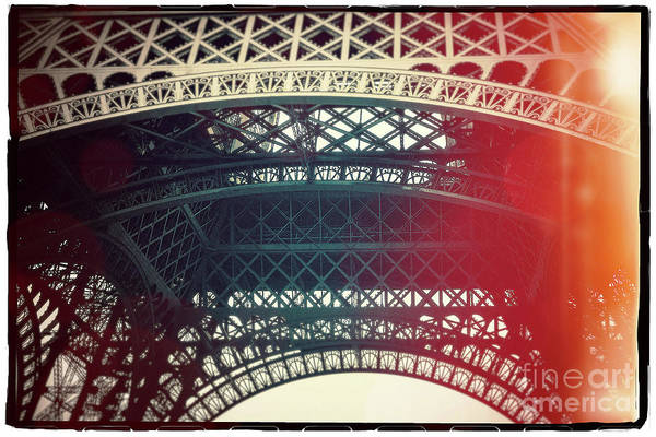 Wall Art - Photograph - Eiffel Tower Tour Eiffel. Paris. France. Europe. by Bernard Jaubert