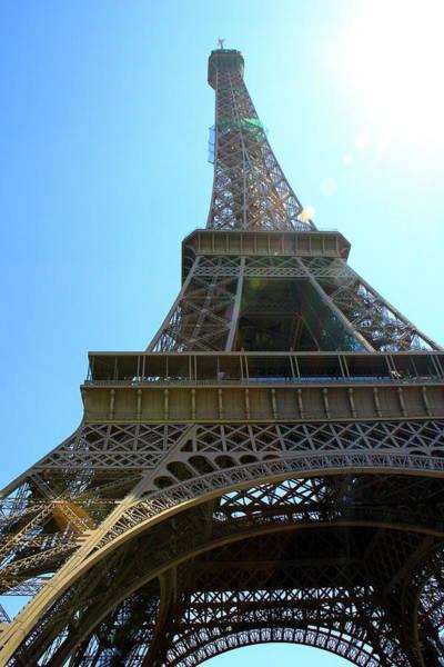 Wall Art - Photograph - Eiffel Tower Under The Spotlight by Kamil Swiatek