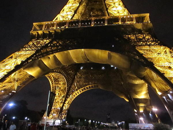Photograph - Eiffel Tower V Paris France by John Shiron