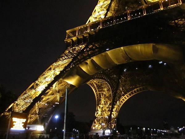 Photograph - Eiffel Tower Vi Paris France by John Shiron