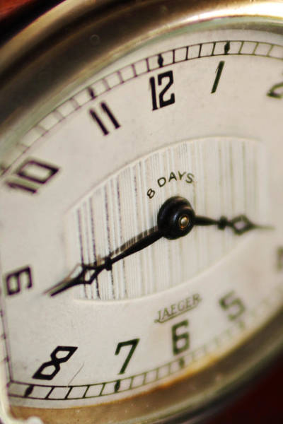 Photograph - Eight Days A Week Clock by Jill Reger