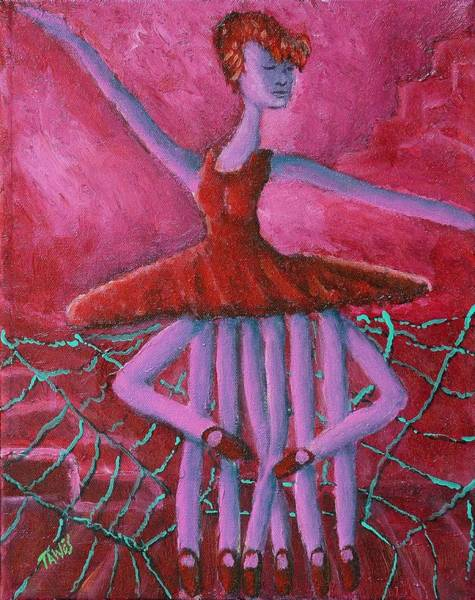 Painting - Eight Legged Ballerina by Dennis Tawes