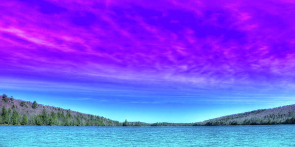 Chain Of Lakes Photograph - Eighth Lake Panorama by David Patterson