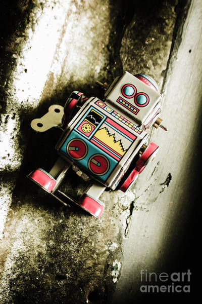 Mechanism Photograph - Eighties Cybernetic Droid  by Jorgo Photography - Wall Art Gallery