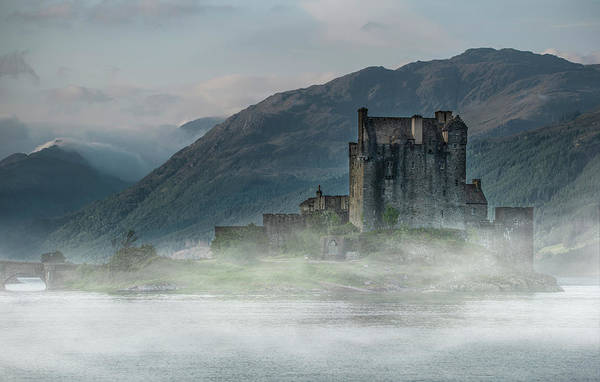 Wall Art - Photograph - Eilean Donan Castle At Dawn by Jaroslaw Blaminsky