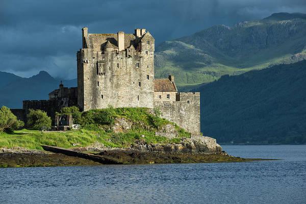 Wall Art - Photograph - Eilean Donan Castle by Christian Heeb
