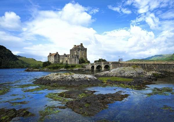 Eilean Donan Castle Digital Art - Eilean Donan Castle by Dorothy Binder