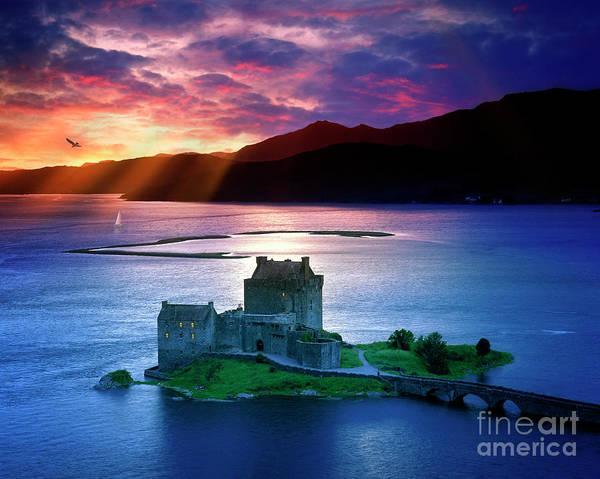 Photograph - Eilean Donan Castle by Edmund Nagele