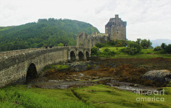 Photograph - Eilean Donan Castle by Gregory Dyer