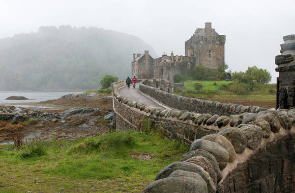 Scenery Wall Art - Photograph - Eilean Donan Castle In The Highlands Of Scotland  by Michalakis Ppalis