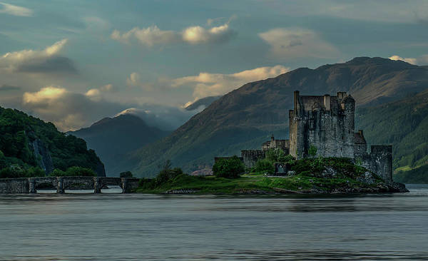 Wall Art - Photograph - Eilean Donan Castle In The Morning Light by Jaroslaw Blaminsky