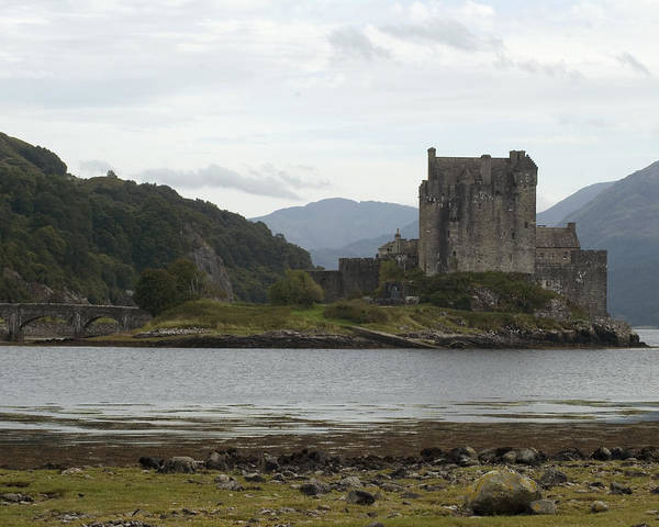 Photograph - Eilean Donan Castle by Kenneth Campbell