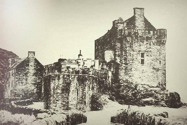 Eilean Donan Castle Digital Art - Eilean Donan Castle by Nicci Frescamente