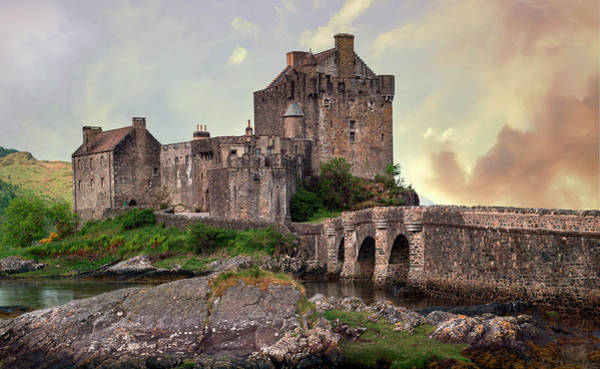 Wall Art - Photograph - Eilean Donan Castle On A Sunny Day by Jaroslaw Blaminsky