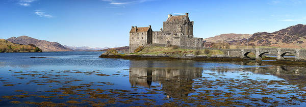 Photograph - Eilean Donan Castle Panorama by Grant Glendinning