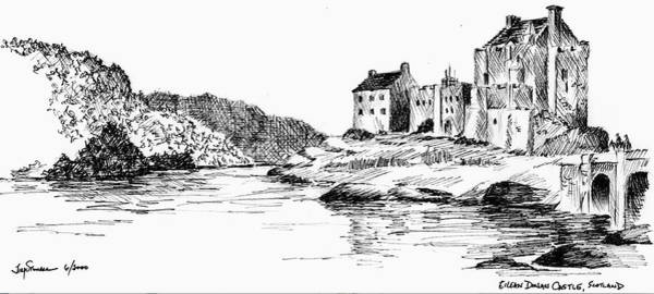 Eilean Donan Castle Painting - Eilean Donan Castle, Scotland by Jim Stovall