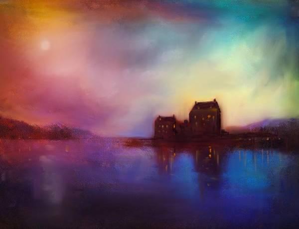 Eilean Donan Castle Painting - Eilean Donan Castle Sunset by Kevin Hunter