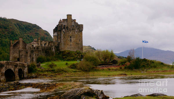 Eilean Donan Castle Painting - Eilean Donan by Louise Fahy
