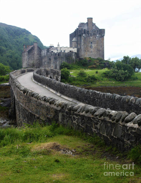 Photograph - Eilean Donan Medieval Castle by Gregory Dyer