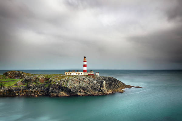 Photograph - Eilean Glas Lighthouse 4 by Grant Glendinning