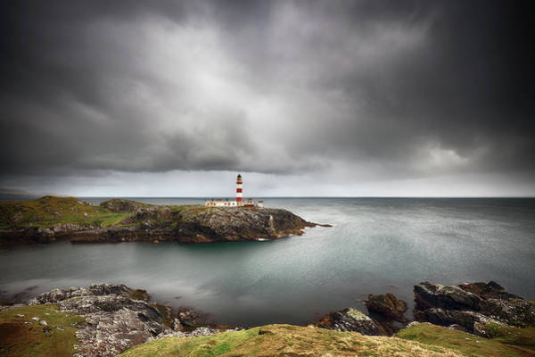 Photograph - Eilean Glas Lighthouse, Scalpay by Grant Glendinning
