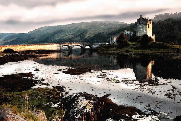Castles Of Scotland Digital Art - Eileen Donan II by M S McKenzie