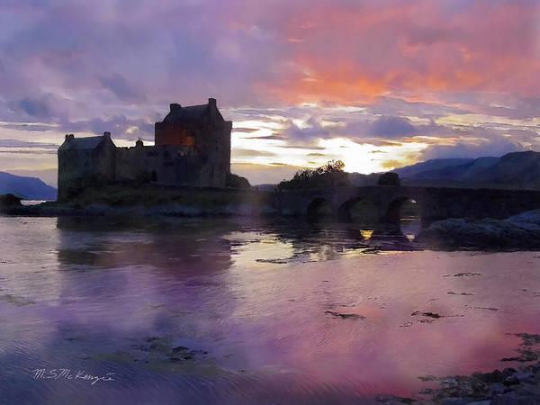 Castles Of Scotland Digital Art - Eileen Donan by M S McKenzie
