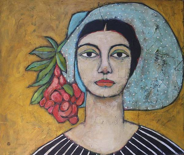 Portrait Wall Art - Painting - Eileen by Jane Spakowsky
