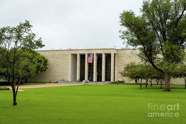 Photograph - Eisenhower Library Complex by Jon Burch Photography