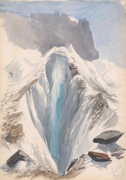 Drawing - Eismeer, Grindelwald by John Singer Sargent