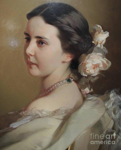 Wall Art - Painting - Ekaterina Feodorovna Tutcheva  Makarov 1850 by Celestial Images