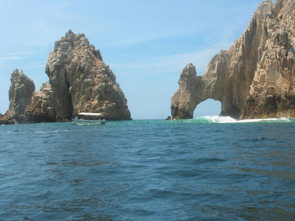 Bernadette Photograph - El Arco Los Cabos by Bernadette Claffey