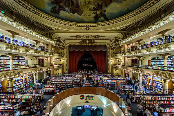 Photograph - El Ateneo Grand Splendid by Randy Scherkenbach