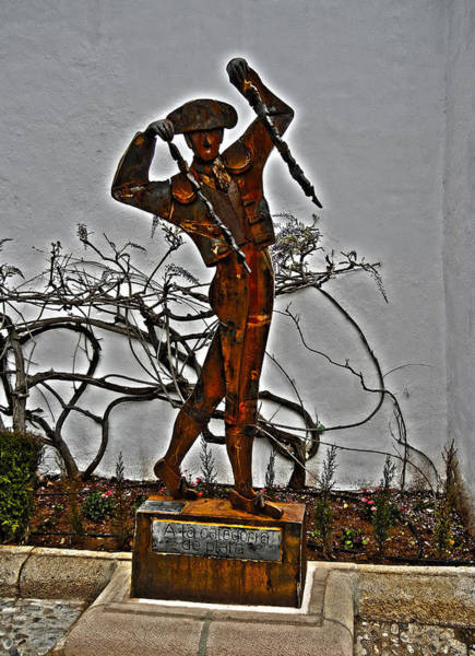 Silhoutte Photograph - El Banderillero ...  by Juergen Weiss