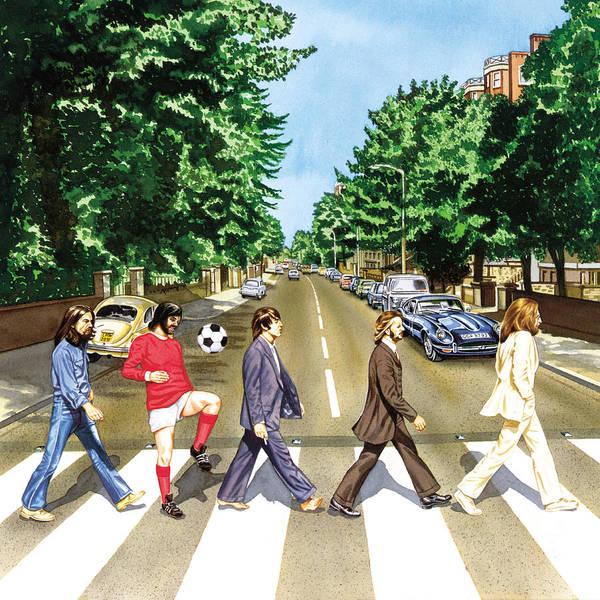 George Best Wall Art - Painting - El Beatle by John Hebb