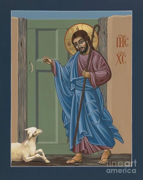Lamb Of God Wall Art - Painting - El Buen Pastor 188 by William Hart McNichols