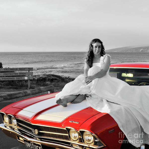 Photograph - El Camino Bride by Rick Piper Photography