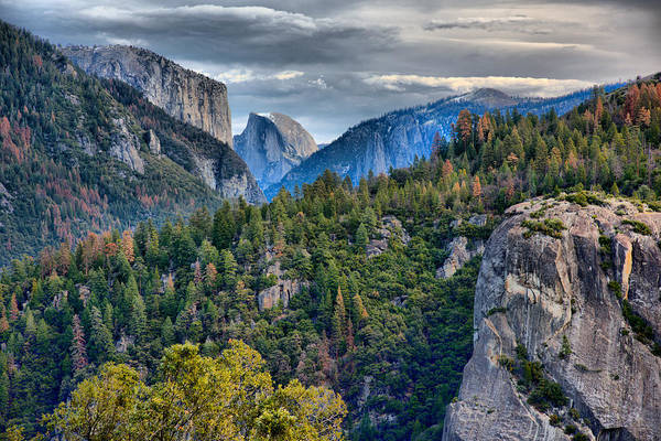 Wall Art - Photograph - El Capitan And Half Dome by Josephine Buschman