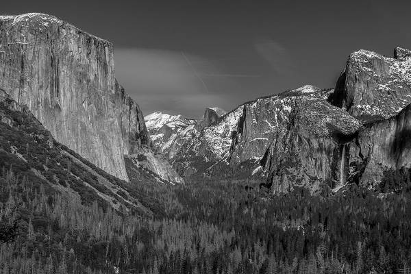 Photograph - El Capitan And Half Dome by Matthew Irvin