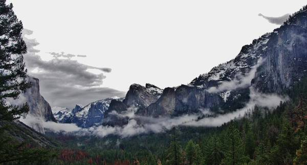 Photograph - El Capitan From Artist Point A by Phyllis Spoor