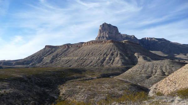 El Capitan - Guadalupe Mountains National Park Art Print