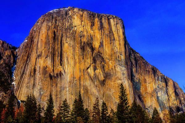 El Capitan Wall Art - Photograph - El Capitan Mountain by Garry Gay