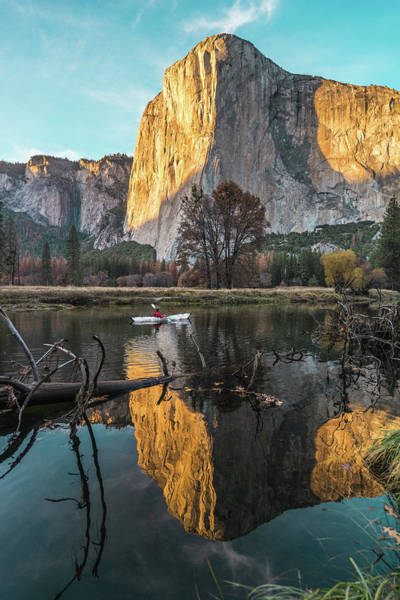 El Capitan Sunset Art Print
