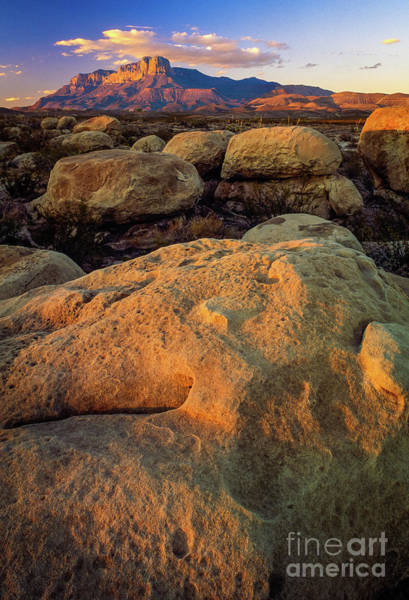 Photograph - El Capitan Texas by Inge Johnsson