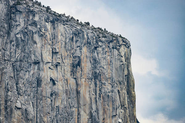 El Capitan Up Close And Personal From Tunnel View Yosemite Np Art Print