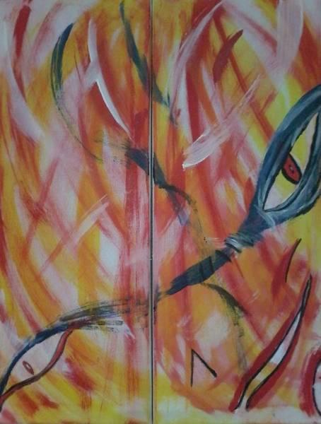 Painting - El Diablo by Lucia Sirna
